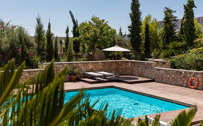 Aménagement extérieur leads piscine