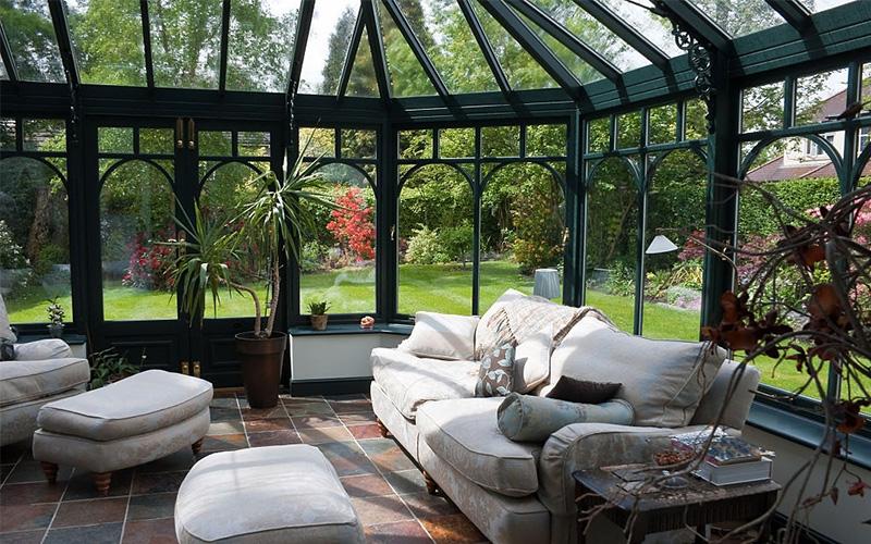 Aménagement extérieur leads veranda