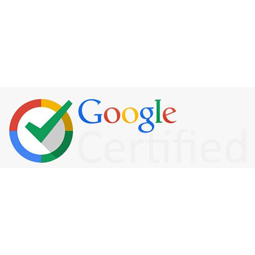 Google Ads logo google certified